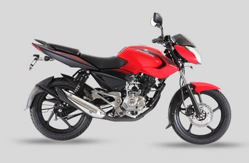 Bajaj Pulsar 135 LS in Cocktail Wine Red color