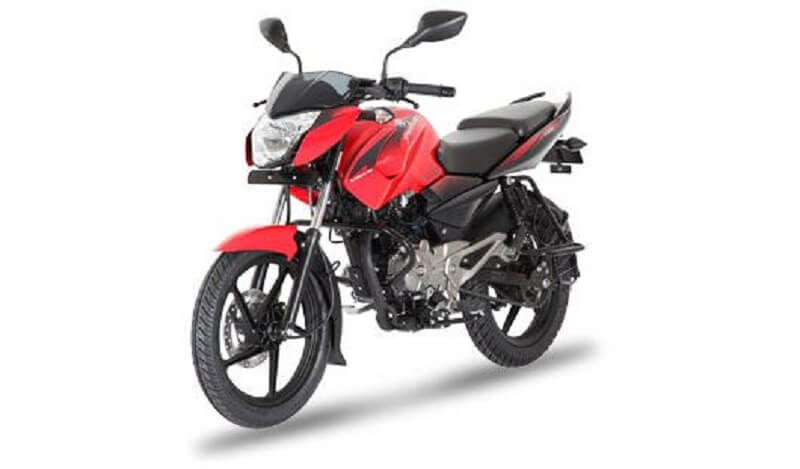 Bajaj Pulsar 135 LS Cocktail Wine Red color