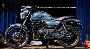 Bajaj V15 Custom Bike By EIMOR Customs