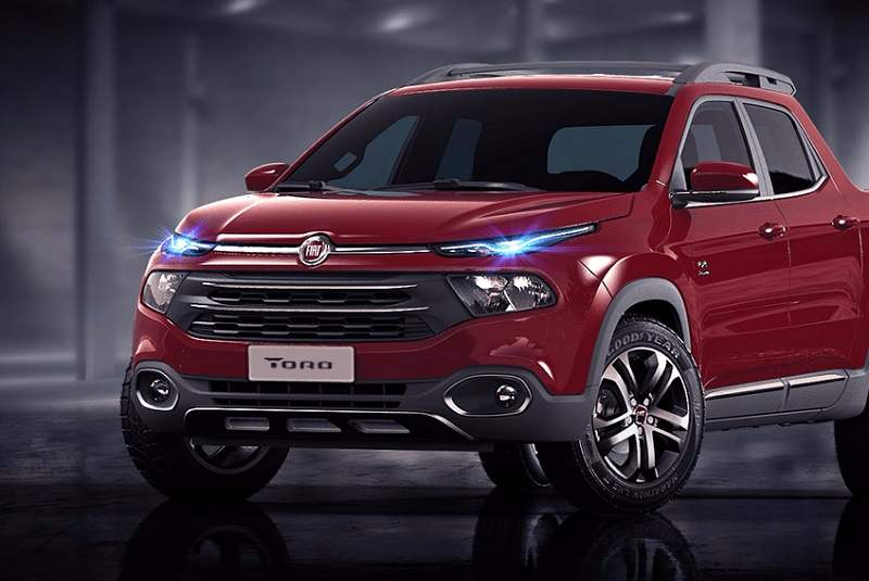 Fiat Toro pickup based SUV