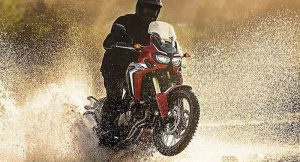 Honda Africa Twin India bike
