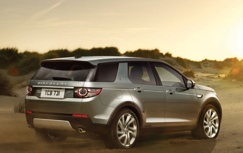 Land Rover Discovery Sport Petrol side