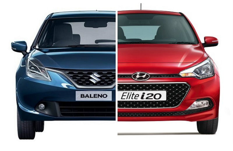 Maruti Baleno vs Hyundai i20 Headlamps