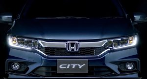 New Honda City 2017 Facelift grille
