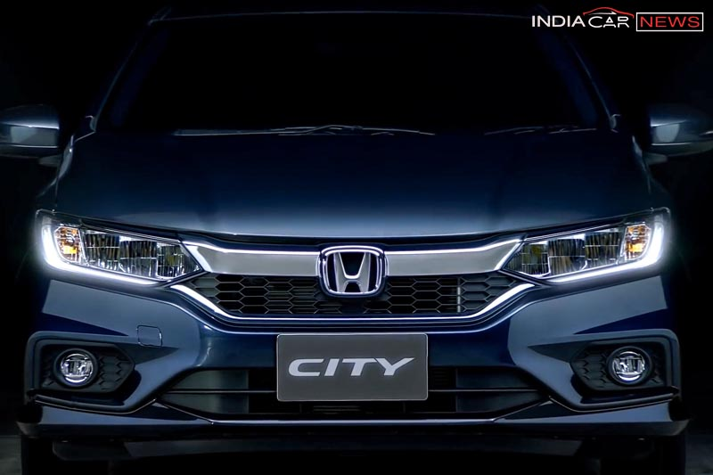 New Honda City 2017 Facelift grille