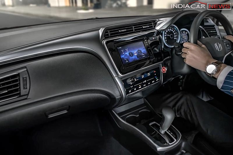 New Honda City 2017 Facelift interior
