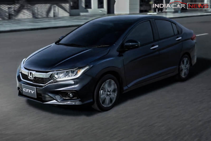 New Honda City 2018 Facelift Front
