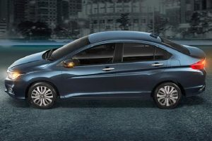 New Honda City 2017 Facelift India side profile