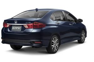 New Honda City 2017 Facelift India rear