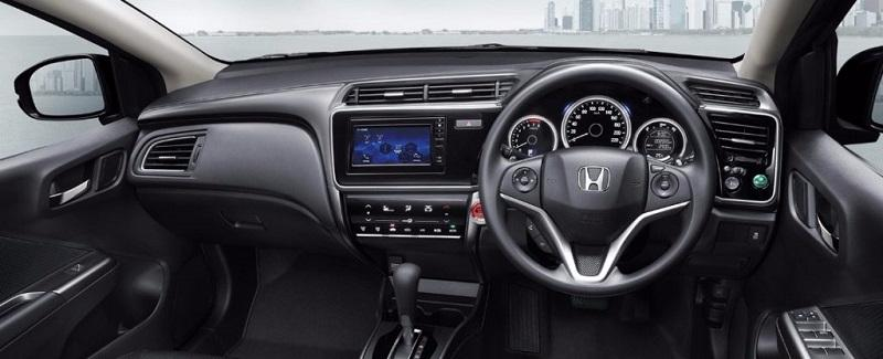 New Honda City 2017 Facelift India interior
