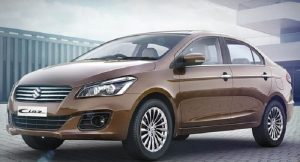 New Maruti Ciaz 2017 facelift front