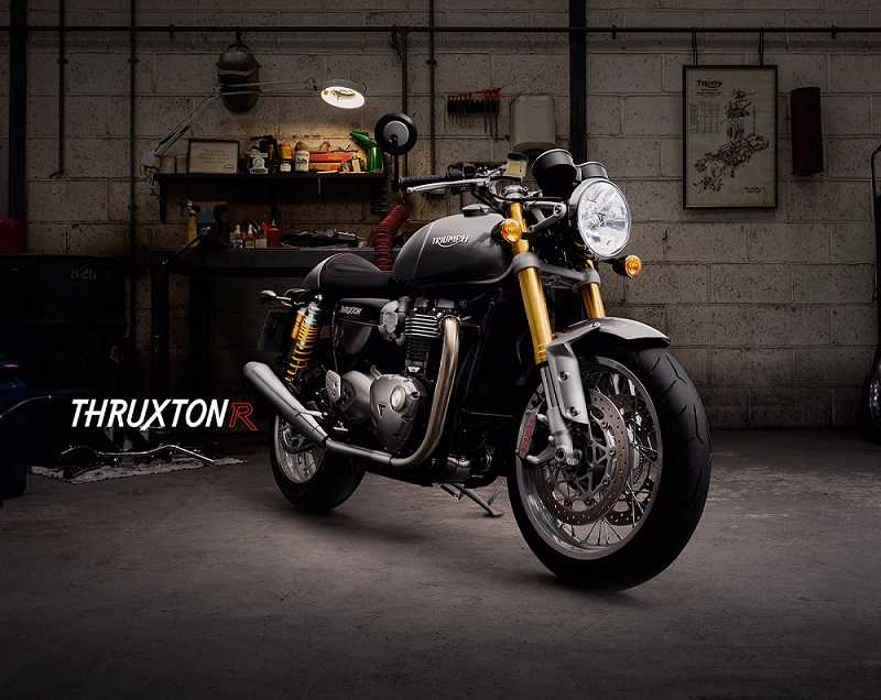 New Triumph Thruxton R 2016 bike