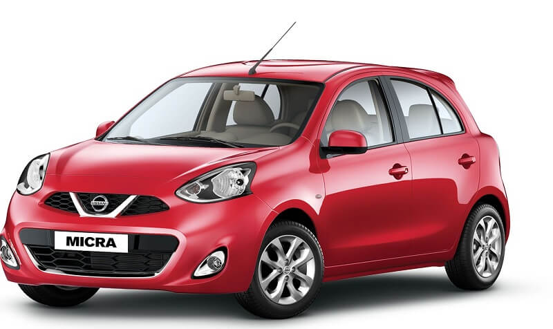 Nissan Micra CVT Automatic side profile