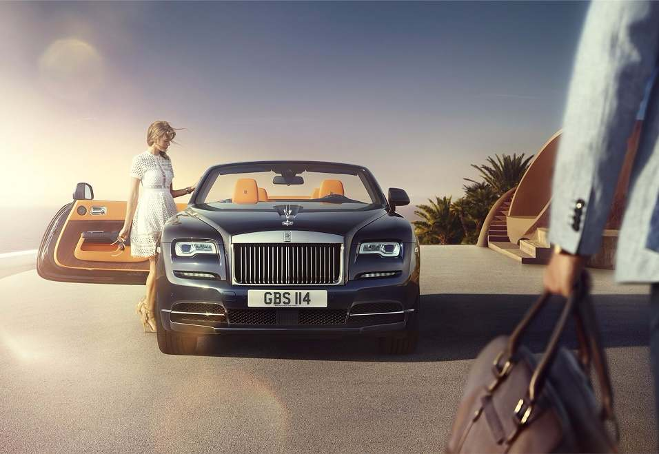 Rolld Royce Dawn India