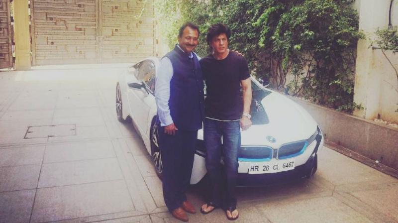 Shah Rukh Khan BMW i8