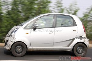 Tata Nano Electric Spied in india