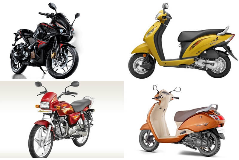 Top 10 selling two wheelers May 2016