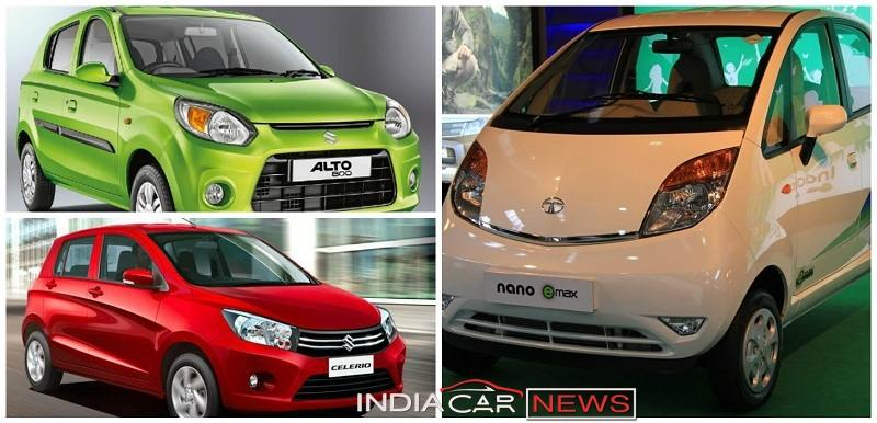 Latest cars in india with price list below 5 lakhs 14