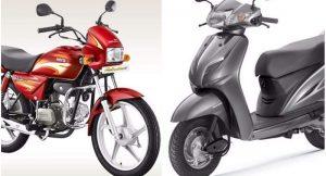 Honda Activa vs Hero Splendor Sales