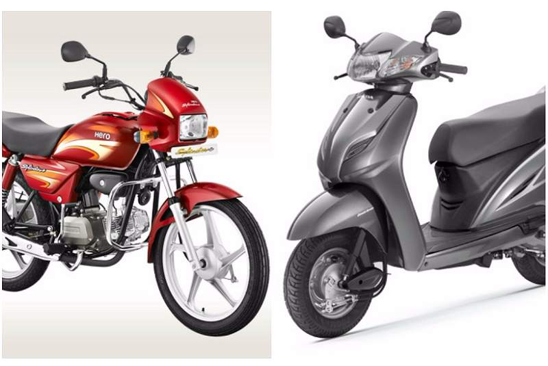 Honda Activa vs Hero Splendor Sales
