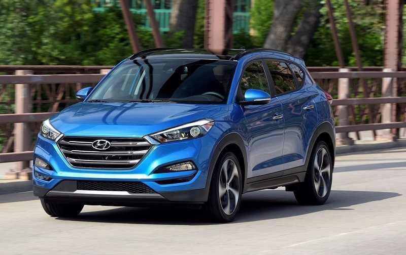 2016 Hyundai Tucson Blue