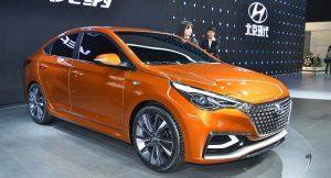 2017 Hyundai Verna front side