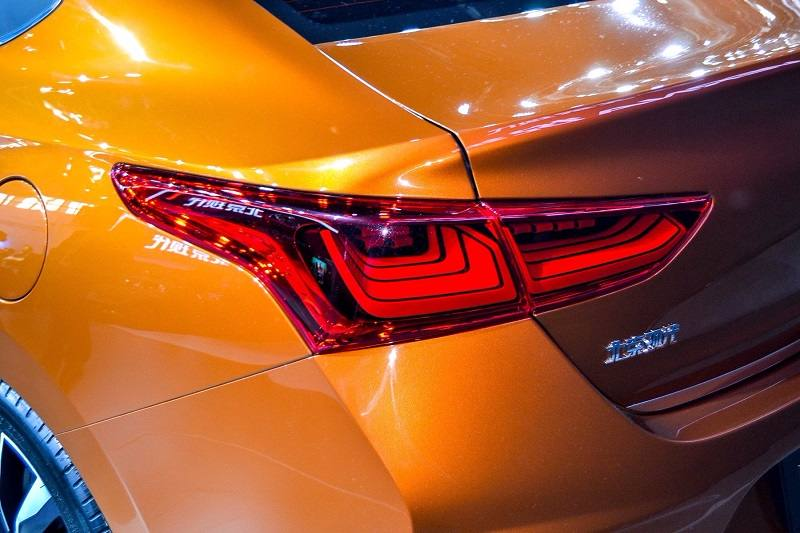 2017 Hyundai Verna tail lamp