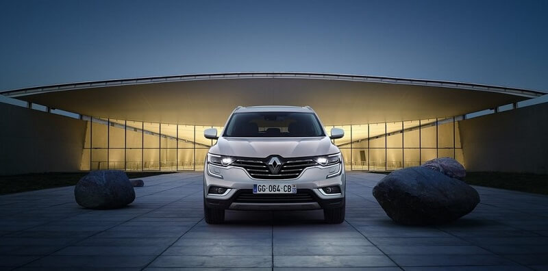 New Renault Koleos 2017 India front