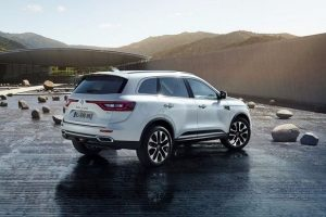 New Renault Koleos 2017 India side profile