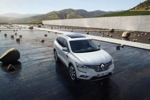 New Renault Koleos 2017 India top view