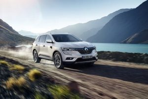 New Renault Koleos 2017 India front side
