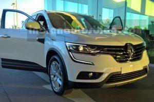 2017 Renault Koleos India front spied