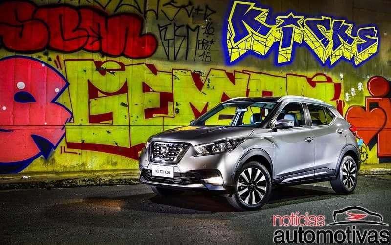2018 Nissan Kicks SUV front-side