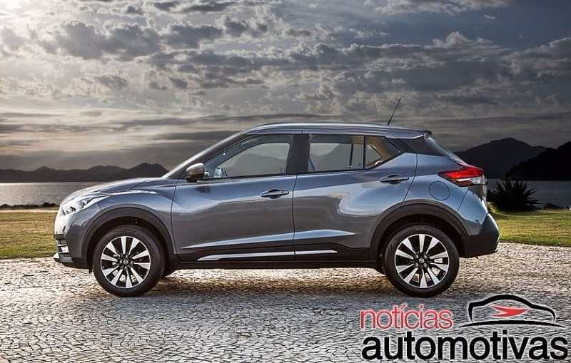 2018 Nissan Kicks SUV grey colour