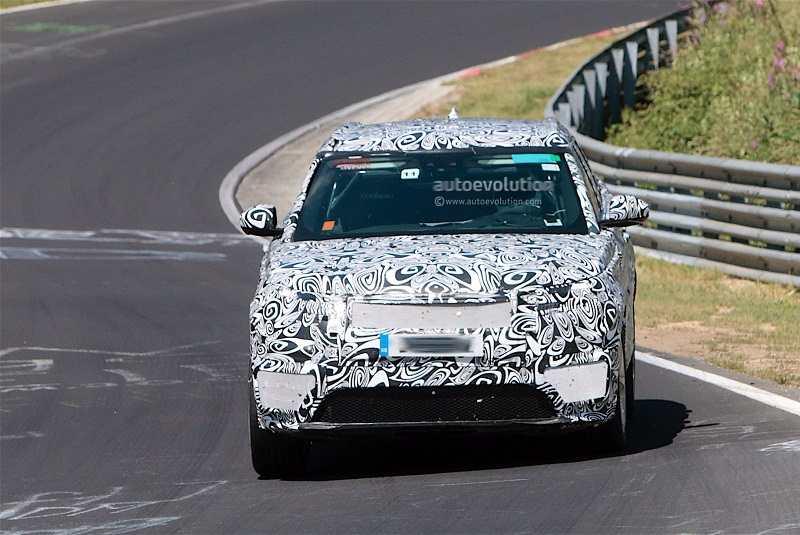 2018 Range Rover Sport Coupe spy image