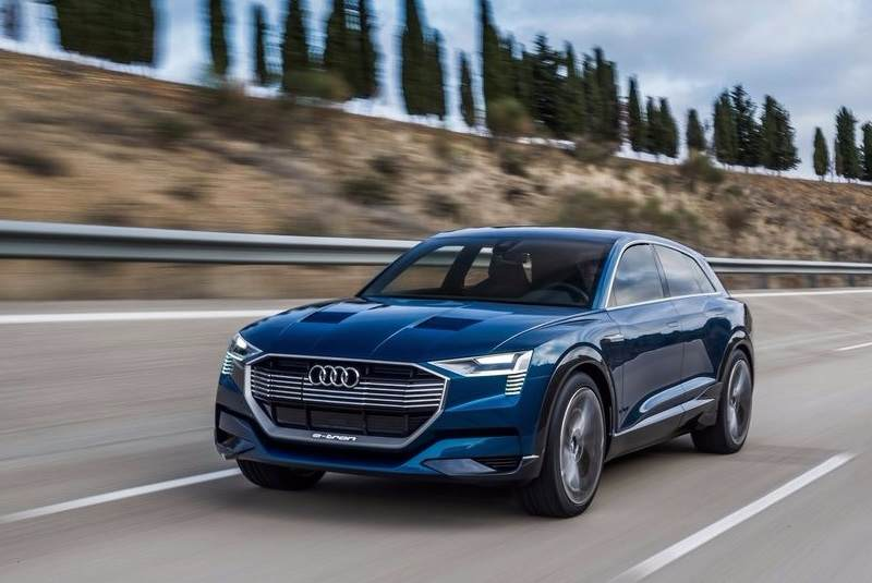 Three Audi Electric Cars By First Will Be An Electric SUV - Audi e car