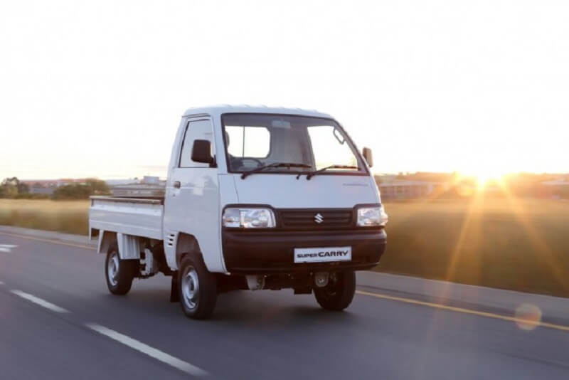 Maruti Super Carry LCV front profile