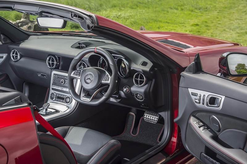 Mercedes-AMG SLC 43 India interior