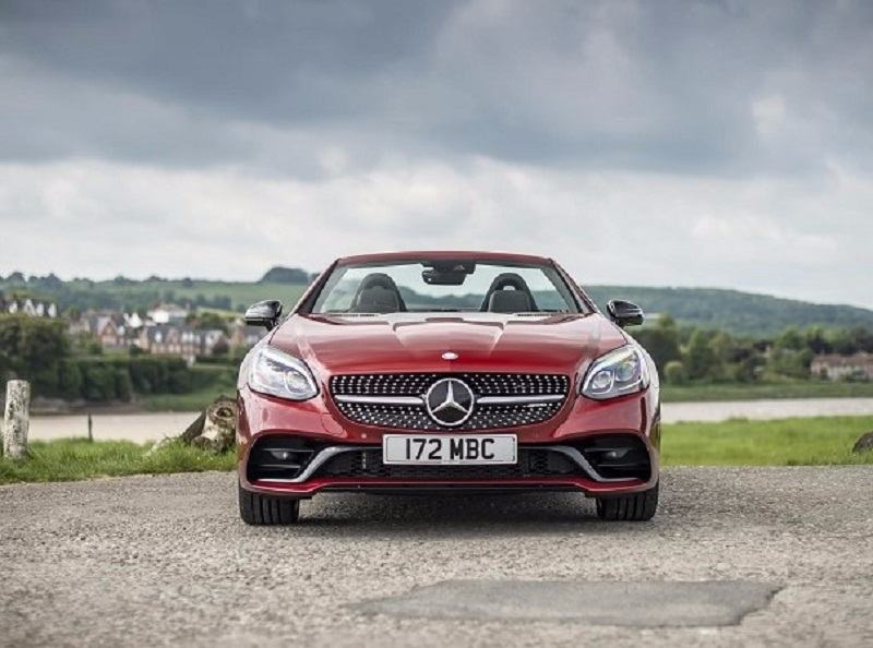 Mercedes-AMG SLC 43 India front grille