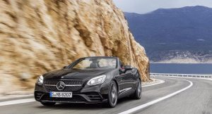 Mercedes-AMG SLC 43 India front