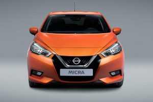 New Nissan Micra 2017 front profile