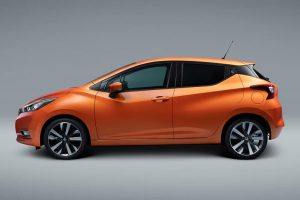 New Nissan Micra 2017 rear profile