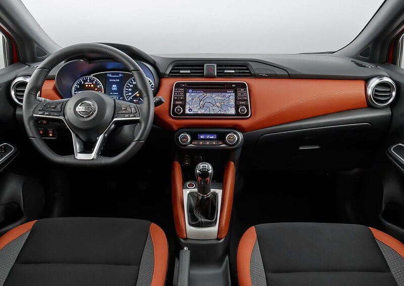 New Nissan Micra 2018 interior