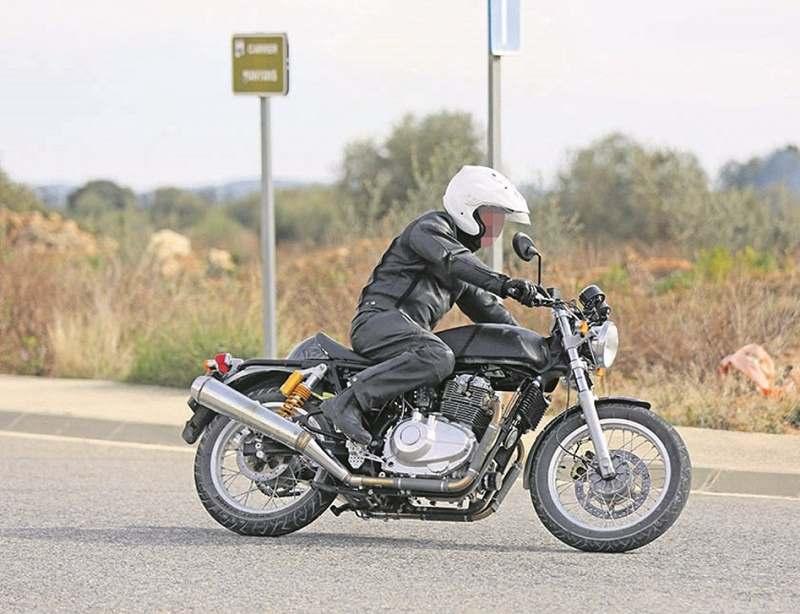 Royal Enfield 750cc bike side
