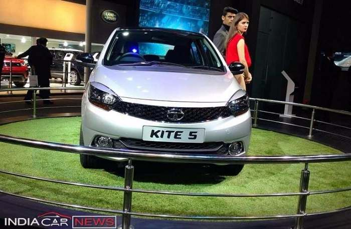 Tata Kite 5 sedan front fascia photo