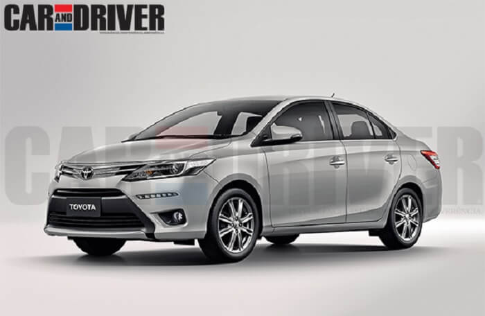 Toyota Etios C Sedan rendered image