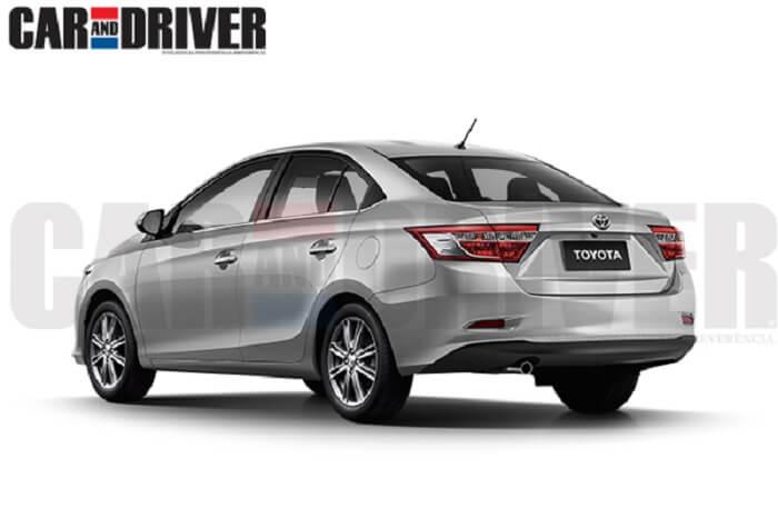Toyota Etios C Sedan image rendering