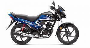 2016 Honda Dream Yuga Black and Blue shade