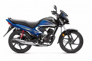 2016 Honda Dream Yuga Black and Blue shade