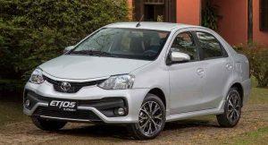 Toyota Etios Platinum facelift